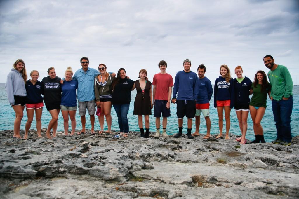 A group shot at High Rock