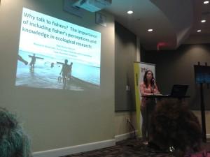 Kate Kincaid presenting.