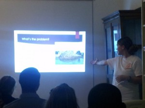 Claire Thomas talks about conch overfishing.