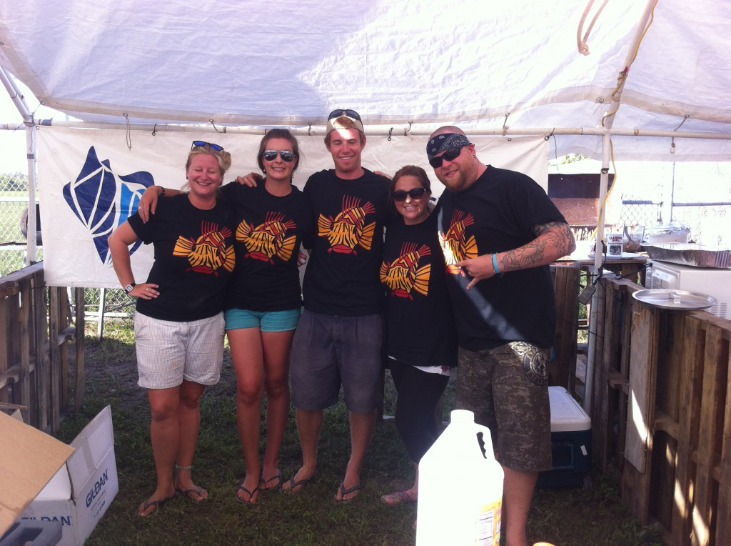 Members of CEI promoting sustainable fisheries at Conch Fest 2014