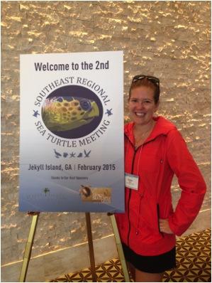 Rachel Miller sea turtle conference