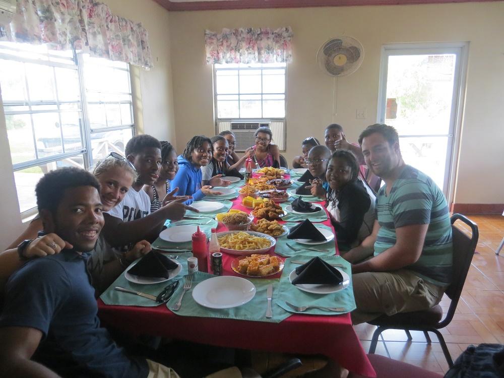 Dinner at Sharil's