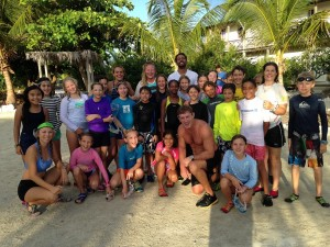 The Grade 5's post The Island School's youngest RUN-SWIM EVER!!!!!