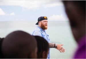 Dr. Owen O'Shea describes the importance of understanding how stingray biology influences the environment around the Bahamas.