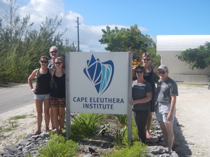 These Earthwatch participants joined the Cape Eleuthera Institute Sea Turtle Research Team from across the globe for a week filled with research and education